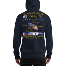 Load image into Gallery viewer, USS Constellation (CVA-64) 1968-69 Cruise Hoodie
