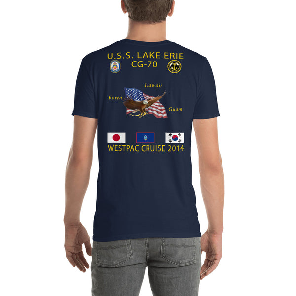 USS Lake Erie (CG-70) 2014 Cruise Shirt