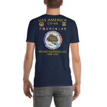 Load image into Gallery viewer, USS America (CV-66) 1990-91 Cruise Shirt (Ver 2)