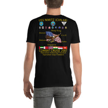 Load image into Gallery viewer, USS Nimitz (CVN-68) 2007 Cruise Shirt