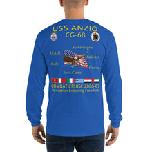 Load image into Gallery viewer, USS Anzio (CG-68) 2006-07 Long Sleeve Cruise Shirt