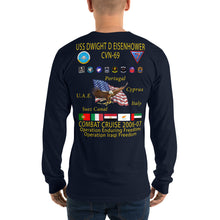 Load image into Gallery viewer, USS Dwight D. Eisenhower (CVN-69) 2006-07 Long Sleeve Cruise Shirt