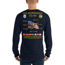 Load image into Gallery viewer, USS Normandy (CG-60) 2002 Long Sleeve Cruise Shirt