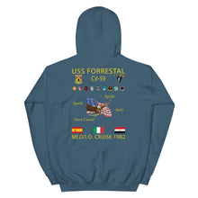 Load image into Gallery viewer, USS Forrestal (CV-59) 1982 Cruise Hoodie