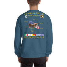 Load image into Gallery viewer, USS Mahan (DDG-72) 2012-13 Cruise Sweatshirt