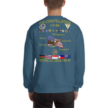Load image into Gallery viewer, USS Constellation (CV-64) 1981-82 Cruise Sweatshirt
