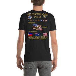USS Constellation (CVA-64) 1964-65 Cruise Shirt