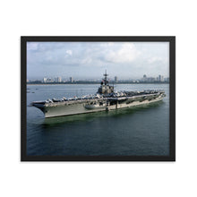 Load image into Gallery viewer, USS Ranger (CV-61) Framed Ship Photo