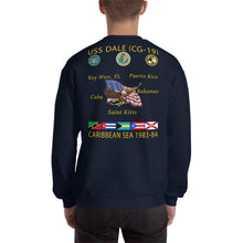 Load image into Gallery viewer, USS Dale (CG-19) 1983-84 Caribbean Cruise Sweatshirt