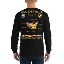 Load image into Gallery viewer, USS Detroit (AOE-4) 1994-95 Long Sleeve Cruise Shirt