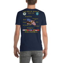 Load image into Gallery viewer, USS Blue Ridge (LCC-19) 2016 Patrol Shirt