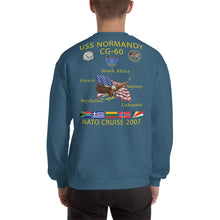 Load image into Gallery viewer, USS Normandy (CG-60) 2007 Cruise Sweatshirt