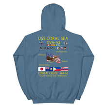 Load image into Gallery viewer, USS Coral Sea (CVA-43) 1964-65 Cruise Hoodie