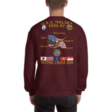 Load image into Gallery viewer, USS Halsey (DDG-97) 2006 Cruise Sweatshirt