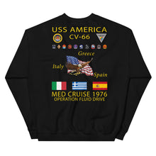 Load image into Gallery viewer, USS America (CV-66) 1976 Cruise Sweatshirt