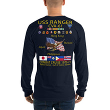 Load image into Gallery viewer, USS Ranger (CVA-61) 1970-71 Long Sleeve Cruise Shirt