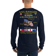Load image into Gallery viewer, USS Ranger (CVA-61) 1967-68 Long Sleeve Cruise Shirt
