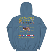 Load image into Gallery viewer, USS America (CVA-66) 1965-66 Cruise Hoodie