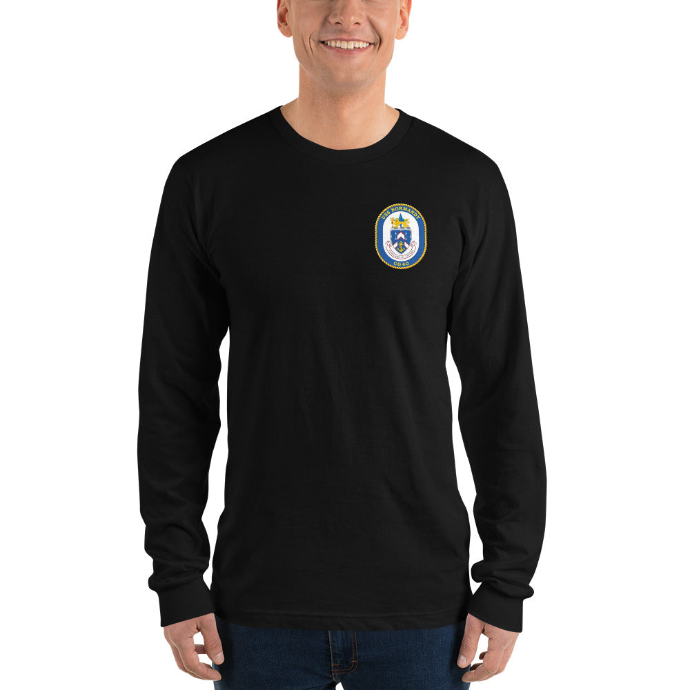 USS Normandy (CG-60) 2010 Long Sleeve Cruise Shirt