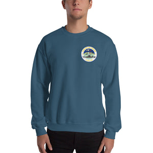 USS Blue Ridge (LCC-19) 2016 Patrol Sweatshirt - Map