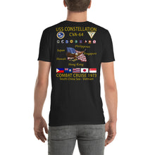 Load image into Gallery viewer, USS Constellation (CVA-64) 1973 Cruise Shirt