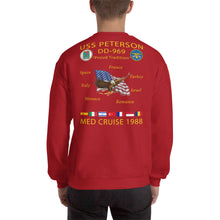 Load image into Gallery viewer, USS Peterson (DD-969) 1988 Cruise Sweatshirt