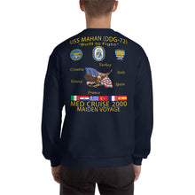Load image into Gallery viewer, USS Mahan (DDG-72) 2000 Cruise Sweatshirt