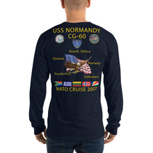 Load image into Gallery viewer, USS Normandy (CG-60) 2007 Long Sleeve Cruise Shirt