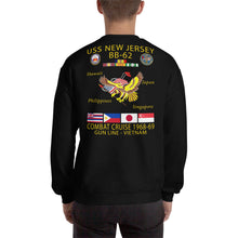 Load image into Gallery viewer, USS New Jersey (BB-62) 1968-69 Cruise Sweatshirt