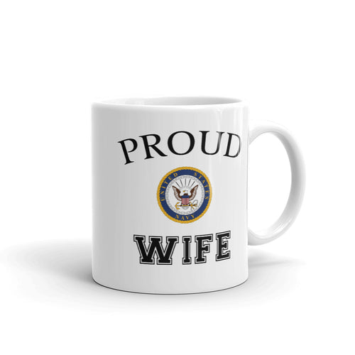 Proud Navy Wife Mug