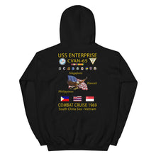 Load image into Gallery viewer, USS Enterprise (CVAN-65) 1969 Cruise Hoodie