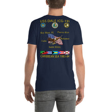 Load image into Gallery viewer, USS Dale (CG-19) 1983-84 Caribbean Cruise Shirt