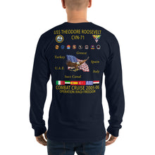 Load image into Gallery viewer, USS Theodore Roosevelt (CVN-71) 2005-06 Long Sleeve Cruise Shirt