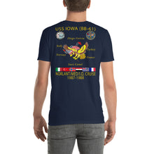 Load image into Gallery viewer, USS Iowa (BB-61) 1987-88 Cruise Shirt
