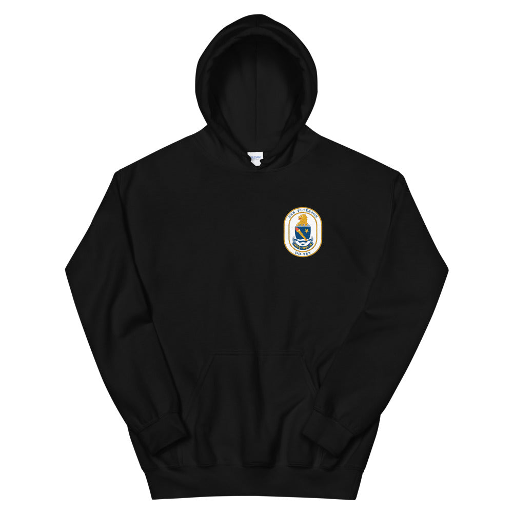 USS Peterson (DD-969) 1986 Cruise Hoodie