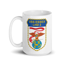 Load image into Gallery viewer, USS Essex (LHD-2) Ship's Crest Mug