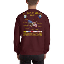 Load image into Gallery viewer, USS Cape St George (CG-71) 2000 Cruise Sweatshirt
