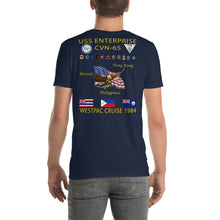Load image into Gallery viewer, USS Enterprise (CVN-65) 1984 Cruise Shirt
