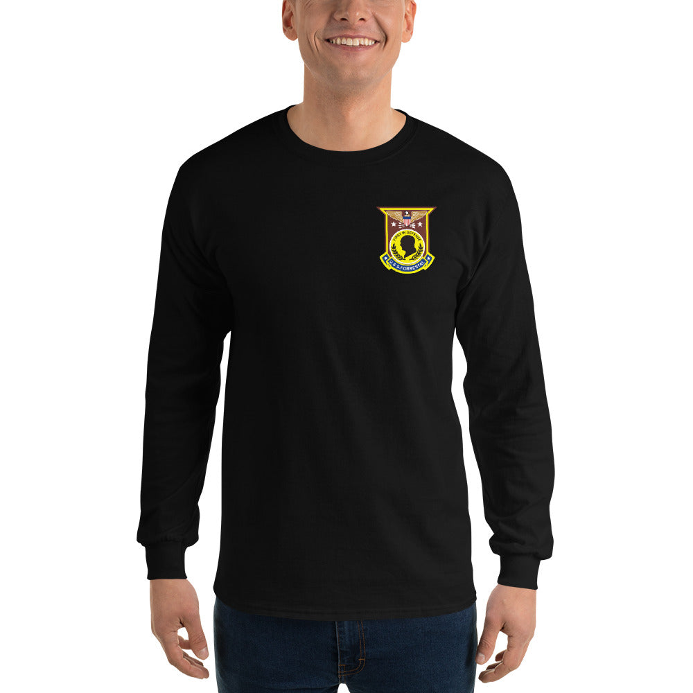 USS Forrestal (CVA-59) 1971 Long Sleeve Cruise Shirt