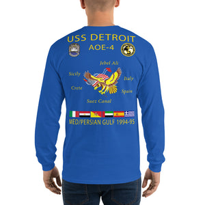 USS Detroit (AOE-4) 1994-95 Long Sleeve Cruise Shirt