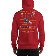 Load image into Gallery viewer, USS Kitty Hawk (CV-63) 1996-97 Cruise Hoodie