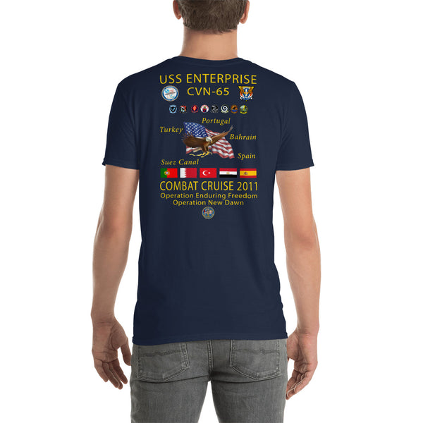 USS Enterprise (CVN-65) 2011 Cruise Shirt