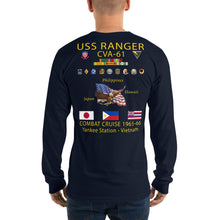 Load image into Gallery viewer, USS Ranger (CVA-61) 1965-66 Long Sleeve Cruise Shirt