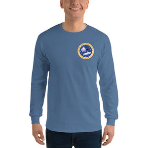 USS Constellation (CVA-64) 1973 Long Sleeve Cruise Shirt
