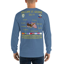 Load image into Gallery viewer, USS Cape St George (CG-71) 2000 Long Sleeve Cruise Shirt