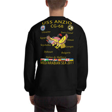 Load image into Gallery viewer, USS Anzio (CG-68) 2011 Cruise Sweatshirt