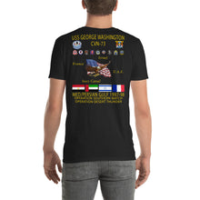 Load image into Gallery viewer, USS George Washington (CVN-73) 1997-98 Cruise Shirt