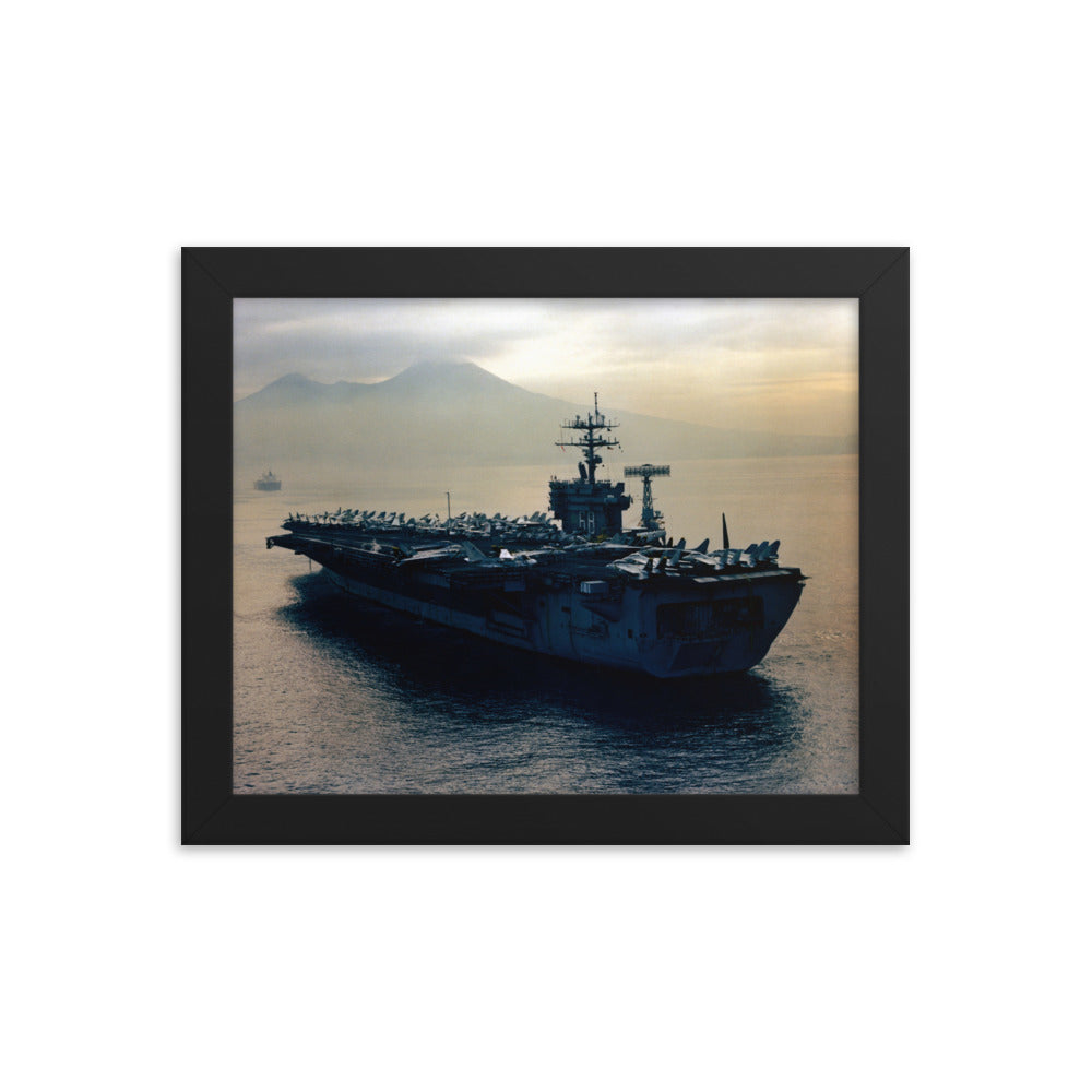 USS Nimitz (CVN-68) Framed Ship Photo
