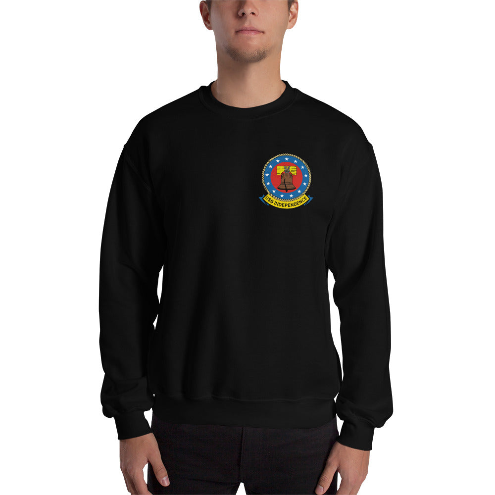 USS Independence (CVA-62) 1970-71 Cruise Sweatshirt