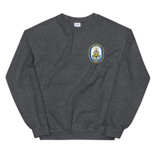 Load image into Gallery viewer, USS Wasp (LHD-1) Ship's Crest Sweatshirt